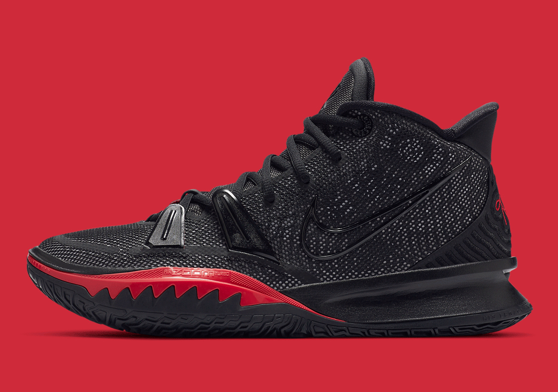 Nike Kyrie 7 Black Red Bred CQ9327-001