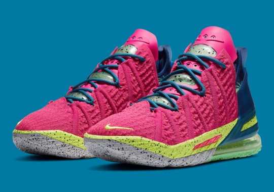 """Nike LeBron 18 """"LA By Night"""" Releases Arrives On Friday The 13th"""