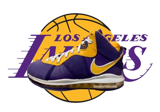 """First Look At The Nike LeBron 8 """"Lakers"""""""