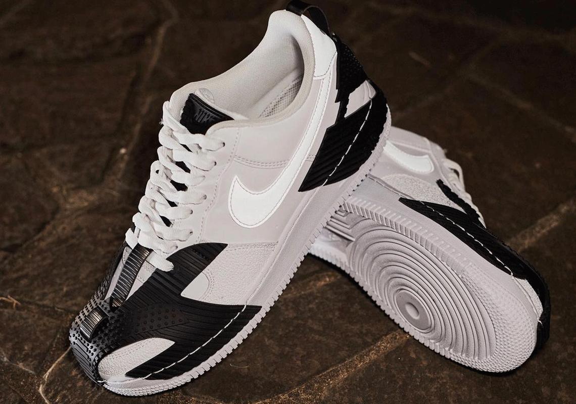 Nike Air Force 1 NDSTRKT CZ3596-100 Blanc Noir - Crumpe