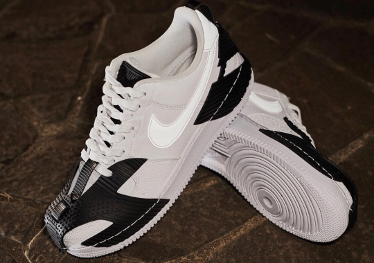 The Nike NDSTRKT Air Force 1 Features Exterior Armor At The Toe And Heel