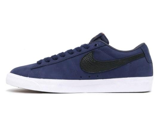 Nike SB Orange Label Delivers Navy Blue Blazers