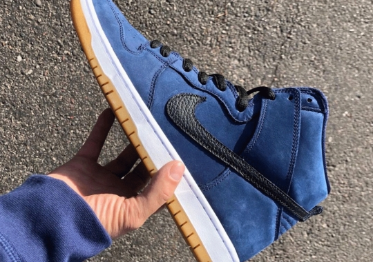 "Nike SB Dunk High ""Obsidian"" Releasing As Part Of Latest Orange Label Pack"