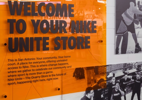 Nike Unite Reveals New Retail Concept In The Social-Distancing Age