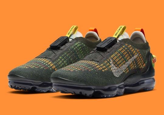 Nike Vapormax 2020 Flyknit Pairs Its Multi-Color With Greyscale Accents