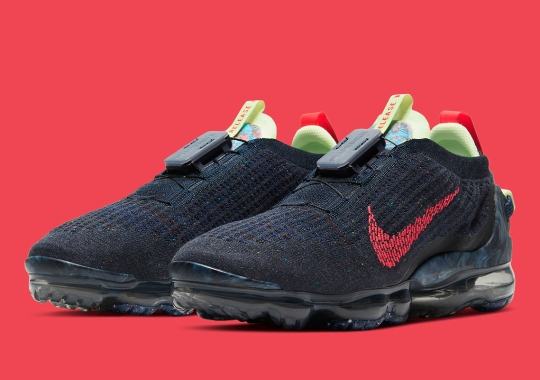 Nike Vapormax 2020 Flyknit Gets USA Vibes With Obsidian And Siren Red