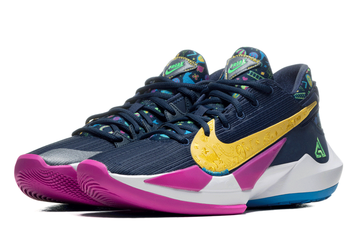 Nike Zoom Freak 2 Midnight Navy Db4689 400 Sneakernews Com