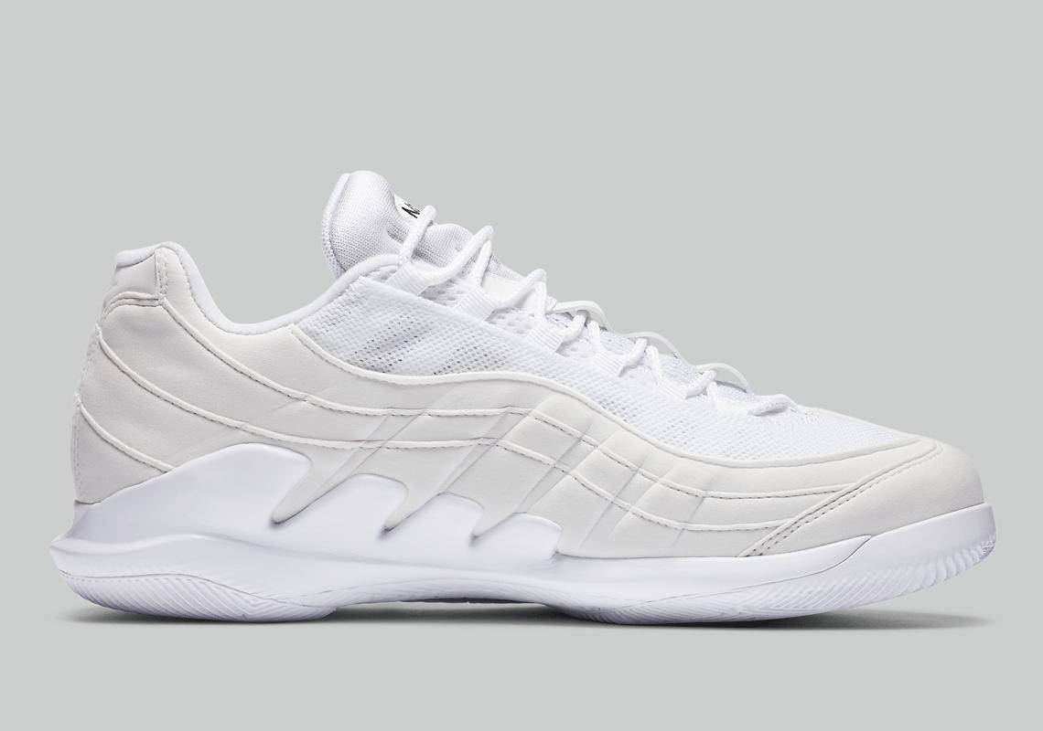 NikeCourt Vapor Air Max 95 DB6064-101 Release | SneakerNews.com