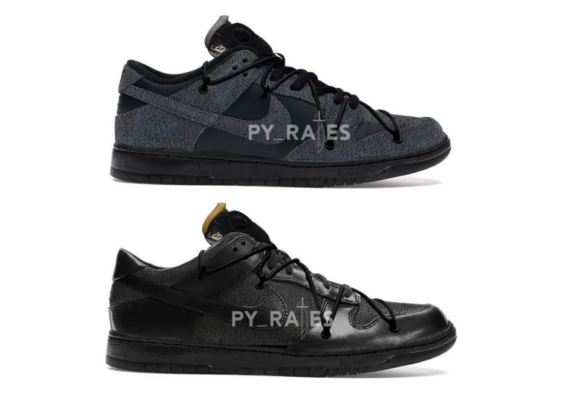 Off-White Nike Dunk Low Black 2021