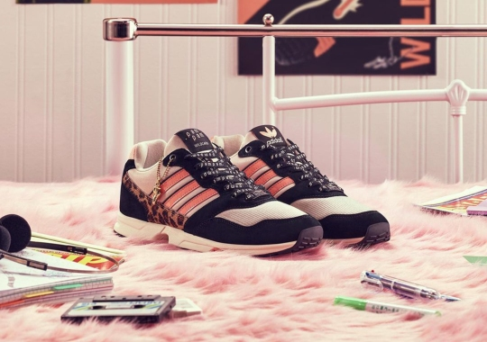 Pam Pam London Adds Hairy Leopard Panels To Their adidas ZX 1000