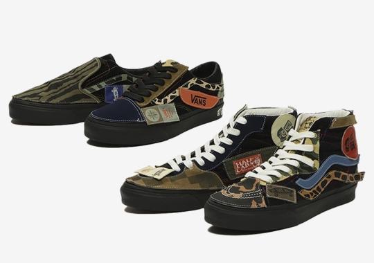 Taka Hayashi's DIY Vans Emerges In Black-Based Colorways