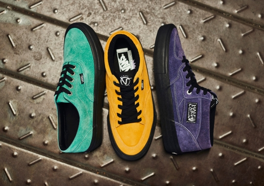"Vans Japan Unveils The ""Whirlpool"" Pack In Monochromatic Suedes"
