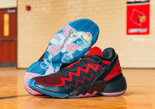 Donovan Mitchell's adidas D.O.N. Issue #2 To Support University Of Louisville Students