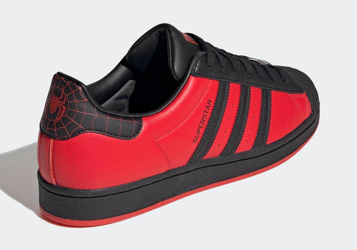 adidas Superstar Spider-Man Miles Morales GV7128 Release Date ...