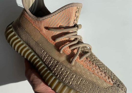 "First Look At The adidas Yeezy Boost 350 v2 ""Sand Taupe"""