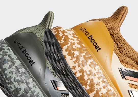 adidas Adds Digi-Camo Detailing To The Ultra Boost's Soles