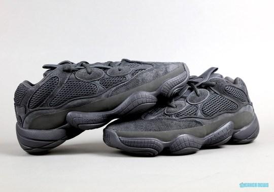 """adidas Yeezy 500 """"Utility Black"""" Returning On November 30th"""