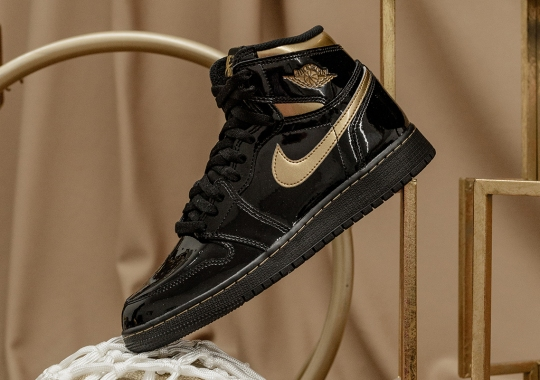 "The Air Jordan 1 Retro High OG ""Black & Gold"" Releases Tomorrow"