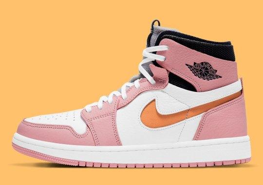 """Air Jordan 1 High Zoom CMFT """"Pink Glaze"""" Is Coming Soon"""