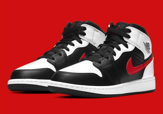 This Air Jordan 1 Mid GS Finds Another Way To Flip Chicago Colors