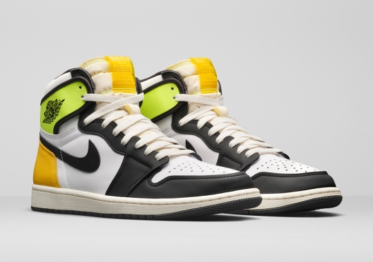 Bright Volt And University Gold Air Jordan 1s Arriving In Spring 2021