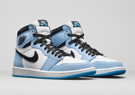 "The Air Jordan 1 Retro High OG ""University Blue"" Gets Officially Unveiled"