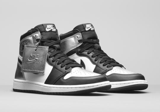 """The Air Jordan 1 Retro High OG """"Silver Toe"""" Is Inspired By Space Flight"""
