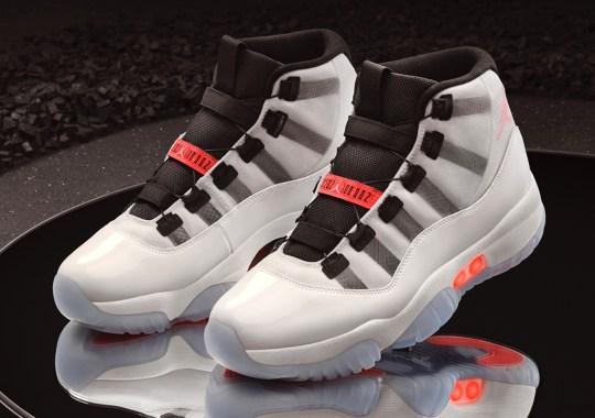 Self-Lacing Air Jordan 11 Adapt Celebrates The 25th Anniversary Of The XI