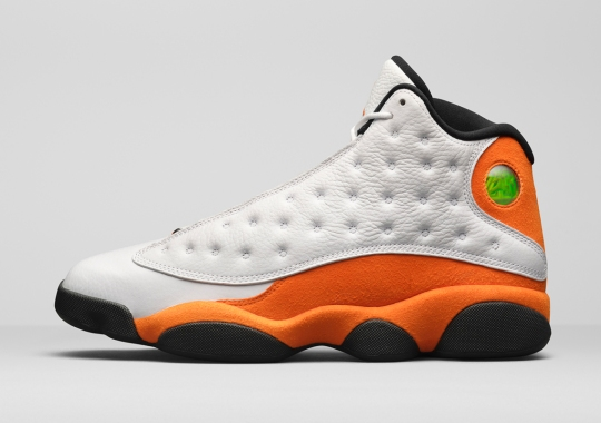 "Classic ""Starfish Orange"" Lands On The Air Jordan 13"