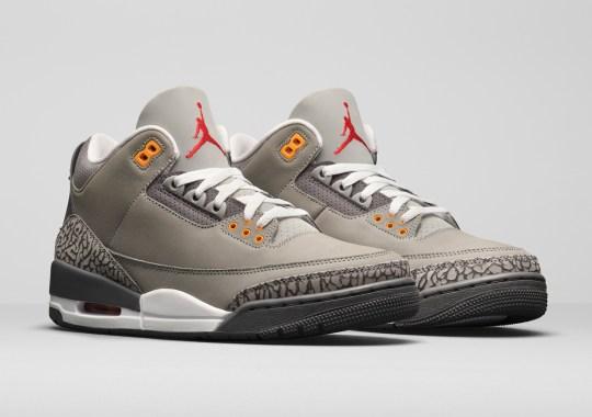 """Jordan Brand Brings Back the Air Jordan 3 """"Cool Grey"""" For 2021"""