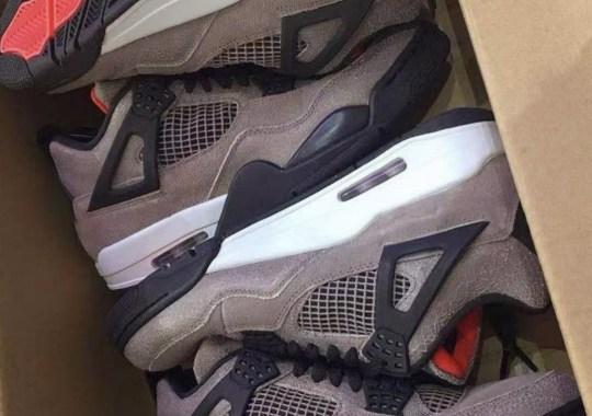 """First Look At The Air Jordan 4 """"Taupe Haze"""""""