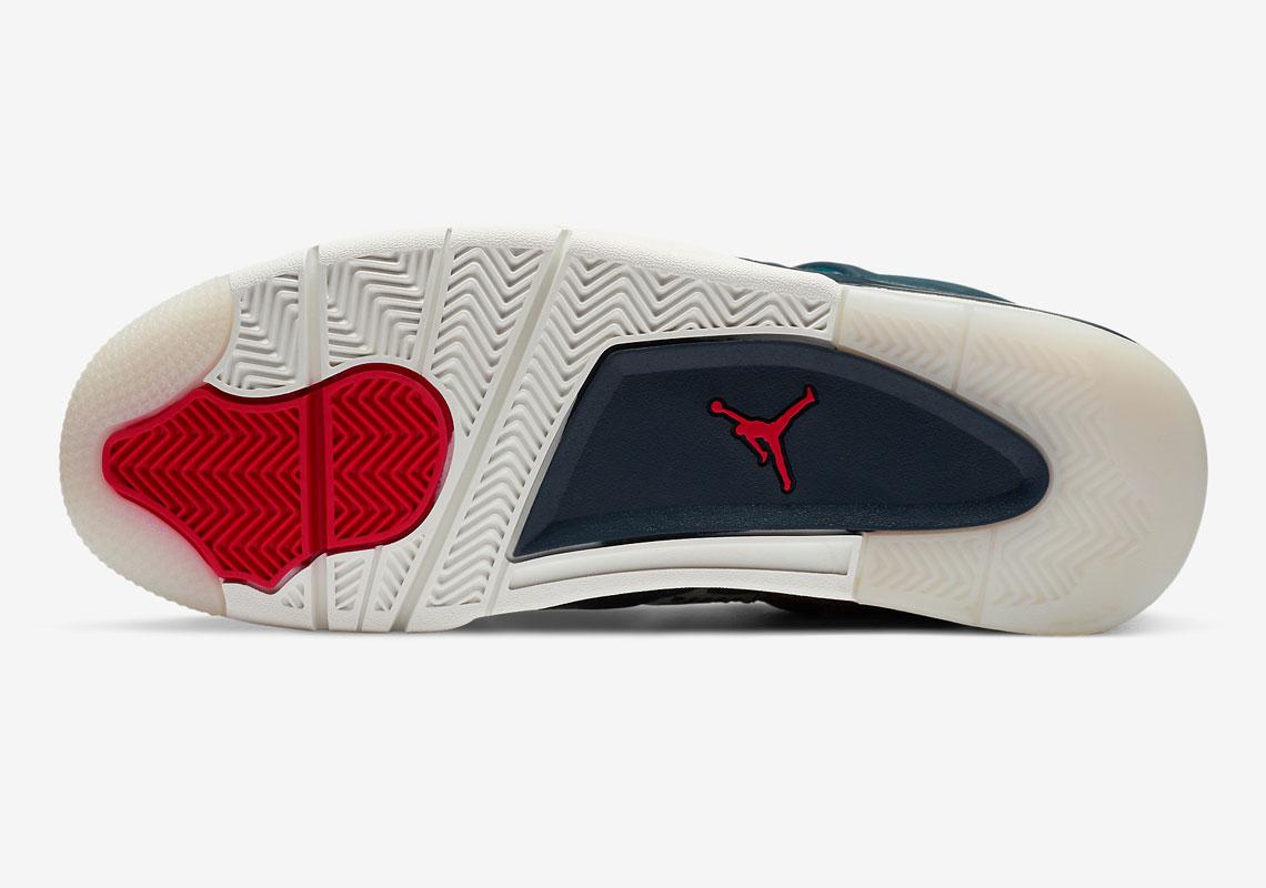 Air Jordan 4 Deep Ocean CW0898-400 | SneakerNews.com