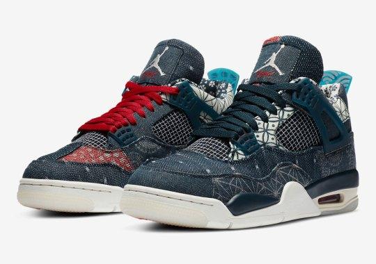 """Official Images Of The Air Jordan 4 """"Deep Ocean"""""""