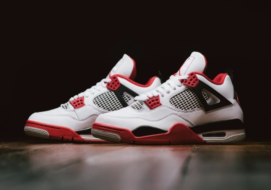 "The Air Jordan 4 ""Fire Red"" Releases Tomorrow"