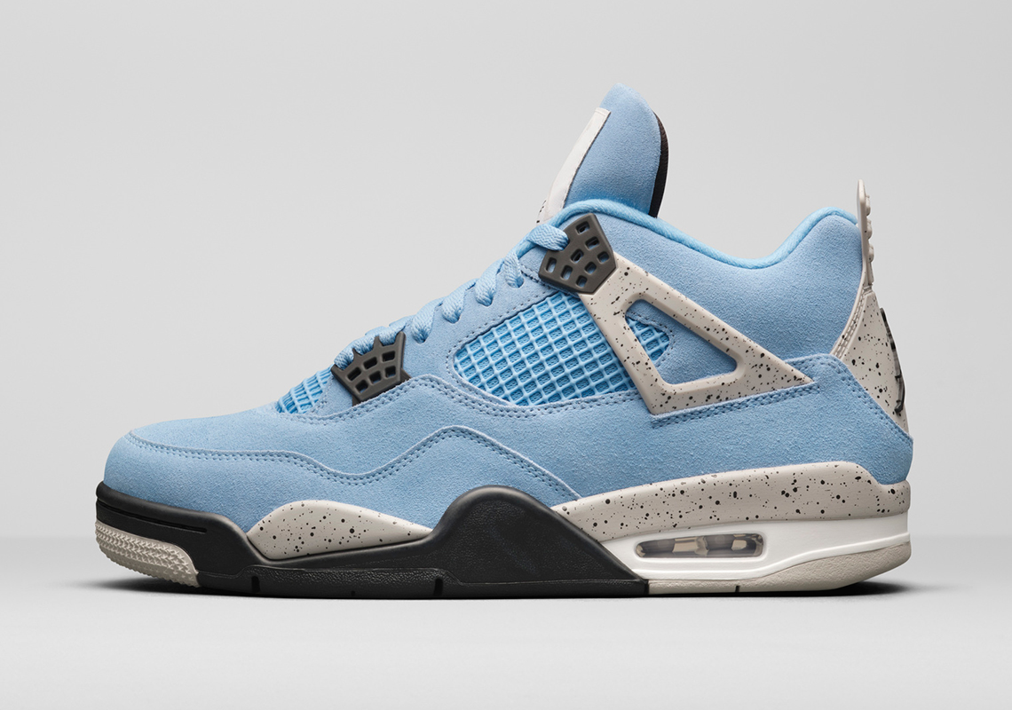 """Air Jordan 4 """"University Blue"""""""