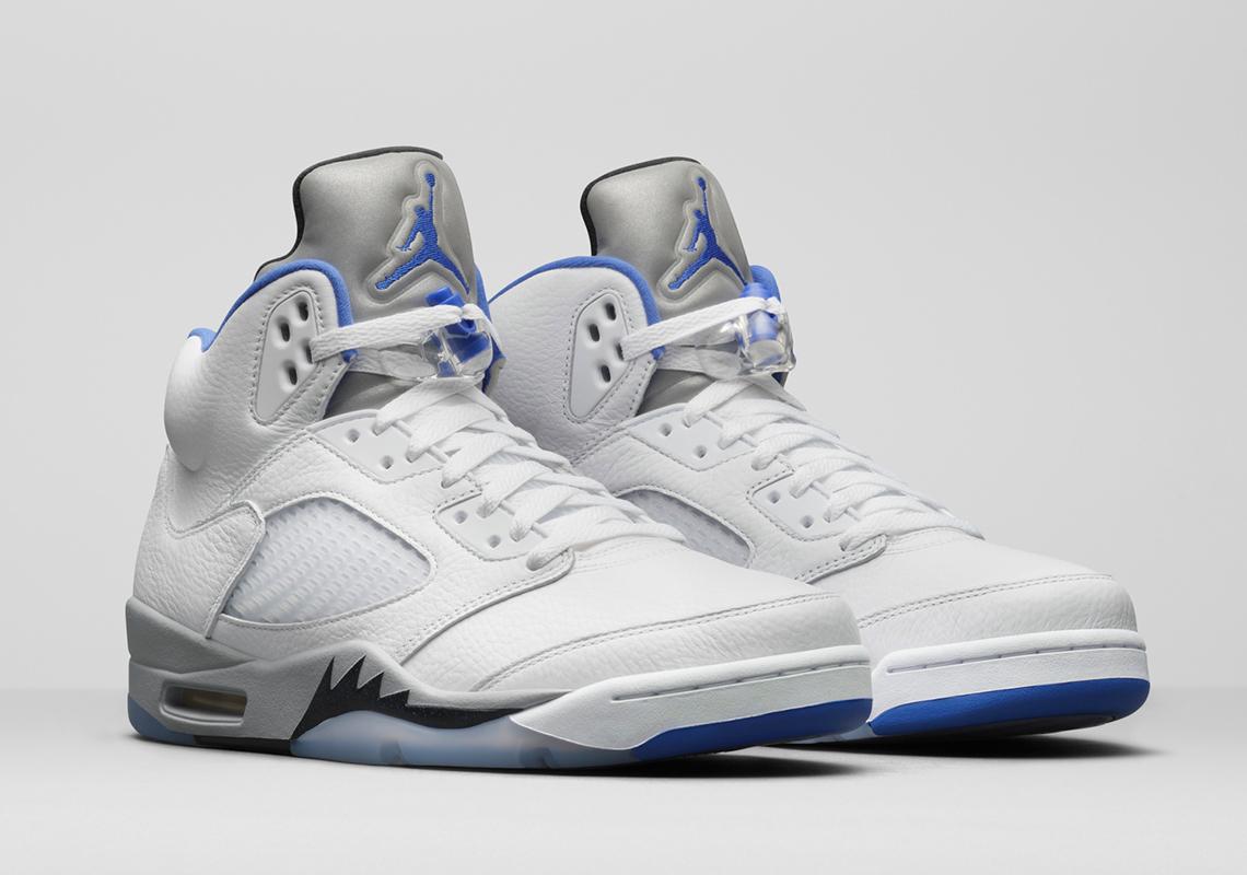 """Air Jordan 5 """"Stealth"""""""