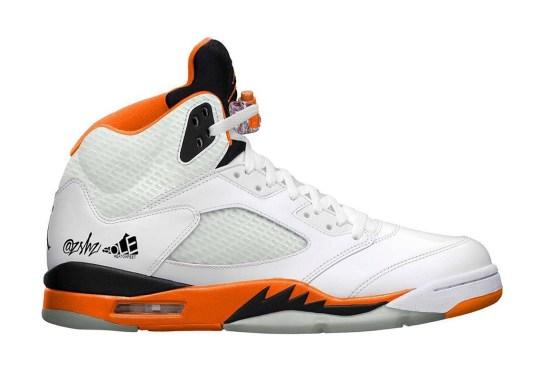 "Air Jordan 5 ""Total Orange"" Confirmed For September 2021"