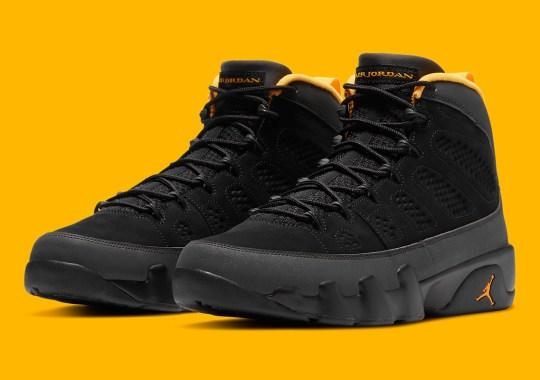 "The Air Jordan 9 ""Dark Charcoal"" Releases This January"