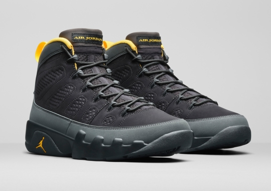 "The Air Jordan 9 ""University Gold"" Releases On January 30th"