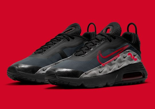 """The Nike Air Max 2090 Boasts The """"Topography"""" Pattern On Its Mudguard"""