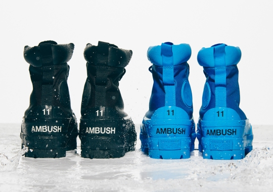 AMBUSH Twists Converse's Outdoor Heritage With Two Different Chuck Taylor Models