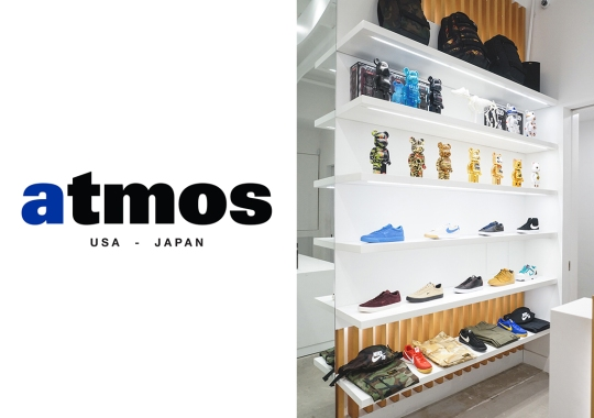 atmos And UBIQ, Two Iconic Sneaker Boutiques, Merge To Form atmos USA