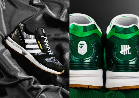 BAPE And Undefeated Continue Decades-Long Partnership With The adidas ZX8000