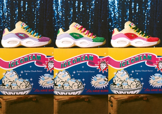 BBC Ice Cream And Reebok Bring The Running Dog To Three Regional Exclusive Question Lows