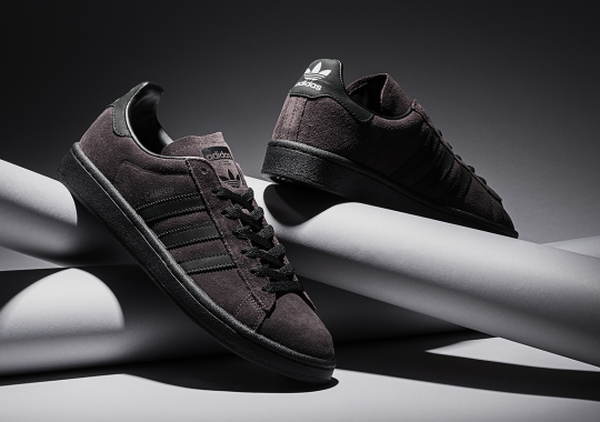 Japan's KICKS LAB. Adds A Stealthy Look To The adidas Campus