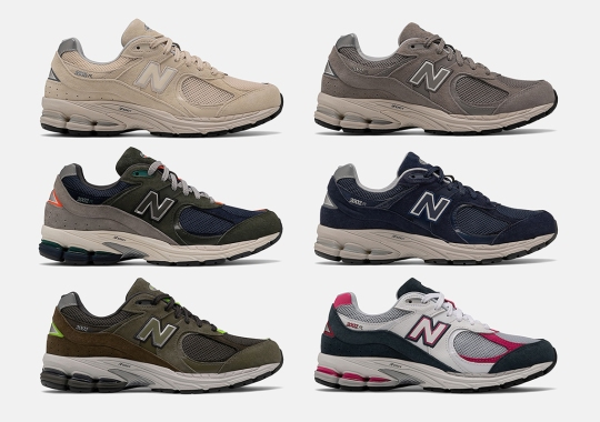 New Balance Aids The 2002R's Return With A Total Of Six Readily Available Colorways