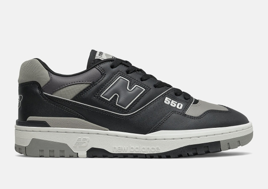 "New Balance Is Dropping The BB550 In A ""Shadow"" Colorway"