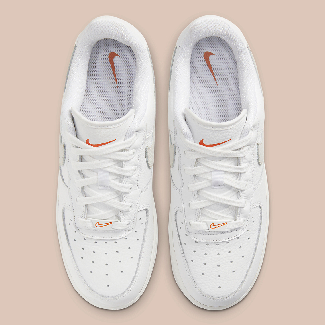 Nike Miesten Nike Air Force 1 07 Style Sneakers With