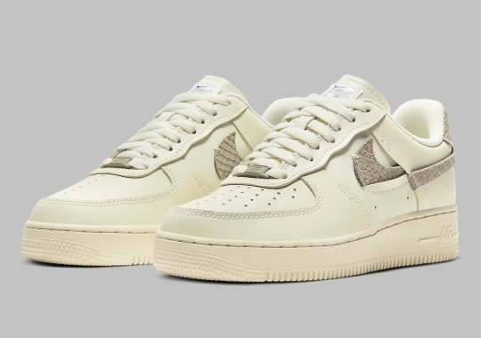"The Women's Nike Air Force 1 LXX ""Sea Glass"" Adds Python Skin Accents"