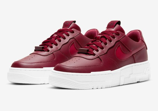 The Air Force 1 Low Pixel Gets Covered In Team Red